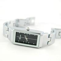 Lady square fashion ladies watch bracelet watch student table trend waterproof watches heterochrosis