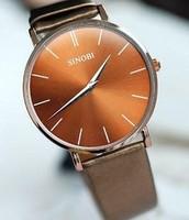 Sinobi needle ultra-thin fashion male watch mens watch fashion classic commercial table strap