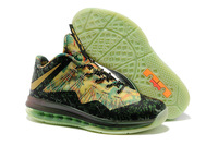 Free Shipping 2013 LeBron X Olympic low MVP Professional Athletic Basketball Shoes for men, 1105 sports shoe, size 41-46