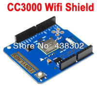 CC3000 Wifi  Shield for Arduino Smart Phone SIMPLELINK SMARTCONFIG  Free Shipping