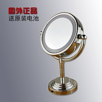 Happy House Led Lighting Mirror With Light 6 Desktop Mirror Vanity Mirror Makeup Mirror Double Faced Mirror