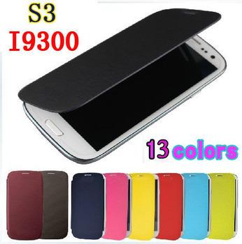 Для Samsung Galaxy S3 SIII i9300 S 3 I9305 Оригинал 9300 Флип Кожаные чехлы задняя крышка корпуса батареи Футляр Футляр