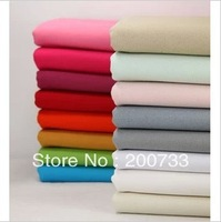 Free shipping 45cm*110cm cotton canvas fabric cloth 16colors are available