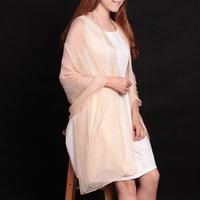 Mulberry silk pure silk scarf women's elegant solid color silk scarf sunscreen