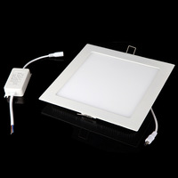 LED panel light AC 86-265V 18W SMD2835 1600LM led Square Ceiling Panel Light Wall Recessed Down Lamp Free Shipping