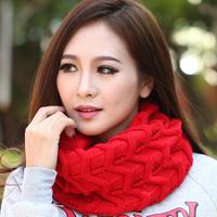 Scarf autumn and winter female cape scarf dual yarn scarf winter women's yarn scarf muffler