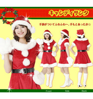 2013 New Christmas dress maomao ball sexy red suit SD011