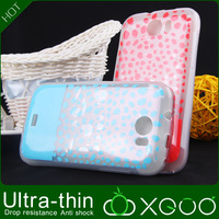 Free shipping Hot selling Korea Candy Colorful Iface Case and soft thin material for Micromax A110 case
