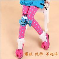 free shipping 5pcs/lot 75% cotton fashion Princess kids christmas tights leggings red camouflage pants leggings for girls