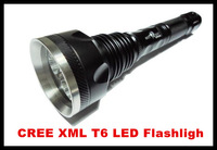 8183 T6 CREE XML T6 LED Flashlight 4000 lumens 3 * T6 Flashlight