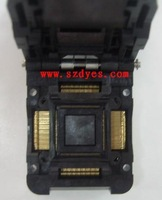 Ic testing seat ic51-1284-1788 qfp128 tqfp2128 test block 0.4mm original