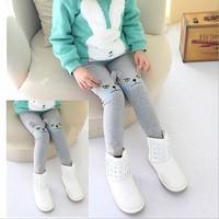 free shipping 5pcs/lot 75% cotton fashion Princess kids christmas tights leggings ruffled lace leggings for girls
