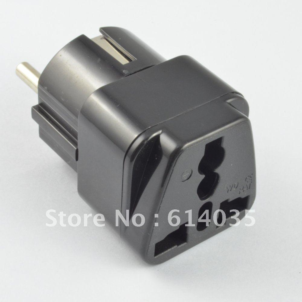 2013 New! Hot! good quality universal socket /Travel Adapter, *CE Marked Germany, France, Indonesia, Korea.(Inlay Way).(China (Mainland))