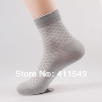 (L&C)cotton winter warm man socks Lace, dot  men sock , wool sock (10pcs=5pairs) /lot, mix color  socks  fit 39-44 size13-106