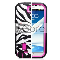 Galaxy  for SAMSUNG   note2 zebra print SAMSUNG n7100 robot mobile phone case