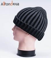 free shipping winter men hats fashion Winter new Korean men's knitted hat bucket hats outdoor curling warm wool hat