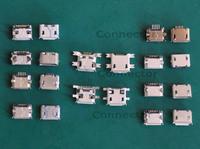 (10 Models /20pcs/lot)  Micro Female USB Connectors fit for Digital Cameras, Phone, Tablet, MP4