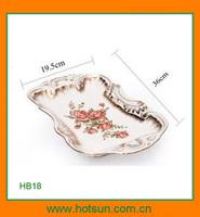 Elegant design modern porcelain serving dish HB18