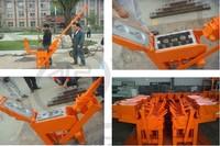 JZ1-40 ,Manual press interlocking  brick machine,house construction brick machine