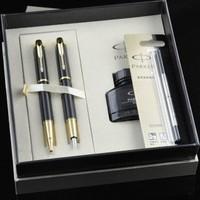 Parker fountain pen parker im series fountain pen roller pen ink refill gift box set