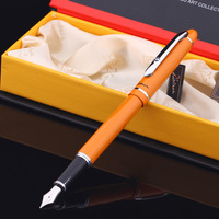 Picas 608 angove iridium pen orange fountain pen ink pen pimio
