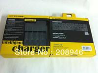 Nitecore I4 battery charger wholesale with US/EU plug for option, 30pcs/lot free shipping