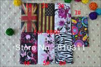 1pcs retro UK USA flag flower floral butterfly Zebra cartoon jellyfish soft TPU Gel Cover case For Nokia Lumia 800 N800 case