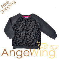 2013 Autumn New arrival monster high sweater girl long sleeve T-shirt leopard shirt clothes free shipping