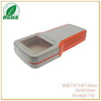 Hand held plastic enclosures, electronic enclosures plastic sample(XDH03-17 200*98*35mm )