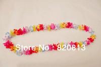 Party supplies hawaiian christmas decorations flower lei 50pcs/lot