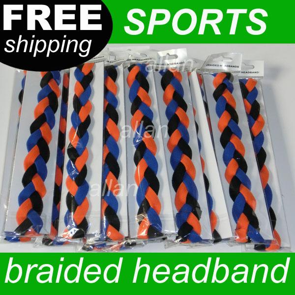 Wholesale Nylon Stretch Braided Headband for sports(China (Mainland))