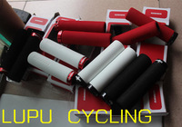 Free Shipping HOT SALE Licensed SRAM Surelink high density foam grips lock cylinder Mountain Folding Box RED WHITE BLACK