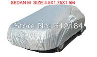 Sedan M size 4.5X1.75X1.5M Car Cover Waterproof Sun UV Snow Dust Rain Resistant Protection for mazda peugeot hyundai