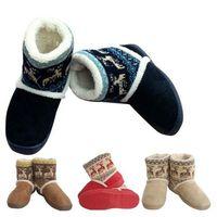hort Plush Snow Boots Ladies Deer Boots Women's Winter Boots 1pair 4 Colors 3 Sizes