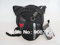 Black Drop Leg Motorcycle Cycling Fanny Pack Waist Belt Bag SH-DA01