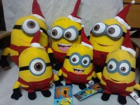 "Despicable ME Movie Plush Toy 10 inch "" 25cm Minion Jorge Stewart Dave 3D for Christmas with tags"