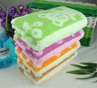 33*75cm 2pcs/lot 85g/pcs Quality Cotton Bear Jacquard towels wholesale bathroom Face Towels free shipping