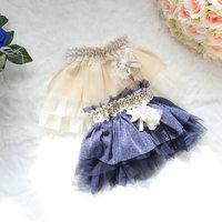 2014 spring and summer kid's tutu skirt girl tulle skirt two colors