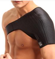 free shipping Adjustable Right&Left shoulder pad belts badminton basketball fitness sports warm shoulder protector safety armor