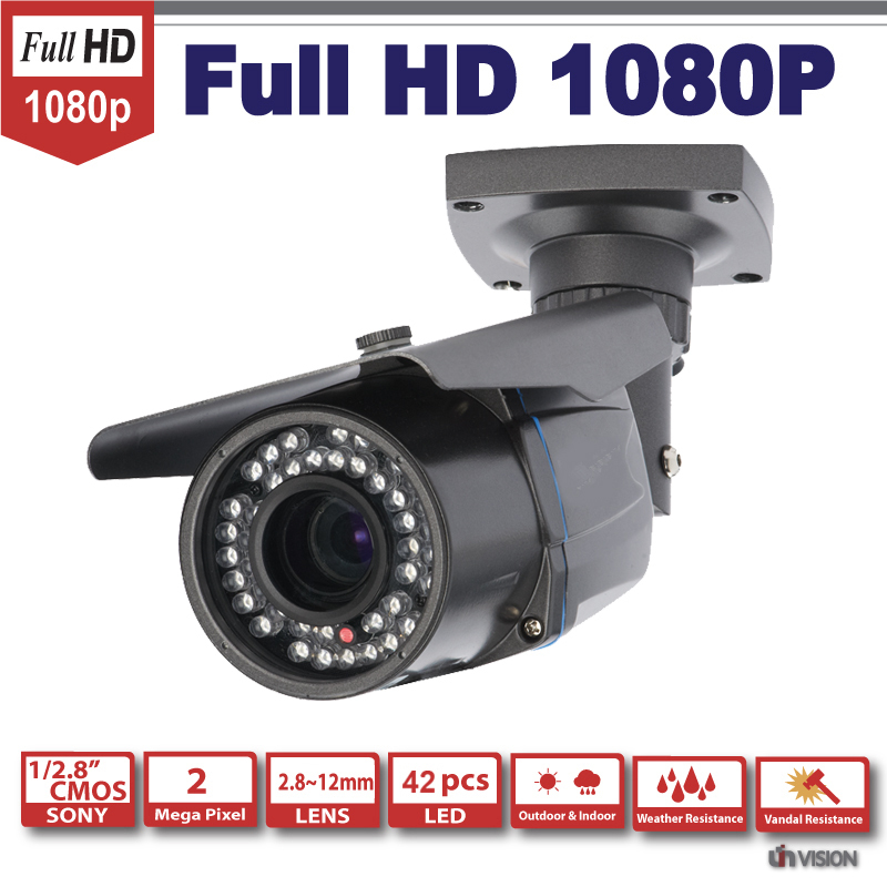 HD SDI 1080P 1/2.8''Sony Exmor Sensor 2megapixels digital security camera 42IR 2.8-12MM waterproof HD-SDI cctv camera SDI cam(China (Mainland))