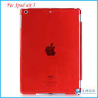 New Crystal Hard Back Case Smart Cover Partner For iPad Air/iPad 5 DHL Free Shipping 100pcs/lot
