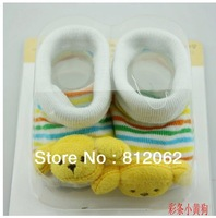 Newborn Socks Qiu Dong Cotton Stereo Socks Baby Socks Modelling Of Socks Free Shipping