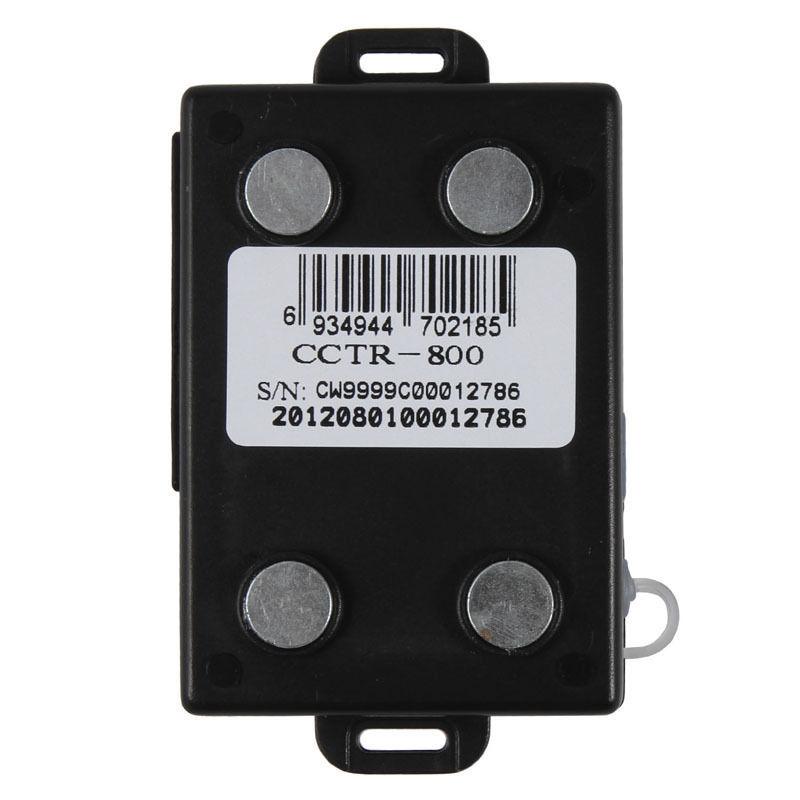Car GPS Tracker CCTR-800 Waterproof Shock Sensor Data logger Realtime Tracking(China (Mainland))