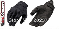 U.S. ICON gloves racing  motorcycle leather gloves with hole