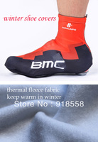Free shipping 2013 BMC winter thermal cycling shoes covers thermal fleece cycling shoes covers all in stock