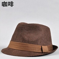Women and men summer popular fedora hats