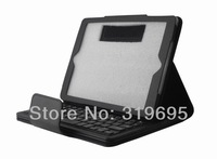Removable Detach Wireless Bluetooth Keyboard Leather Case Cover Pouch Stand For Apple iPad 5 For iPad Air