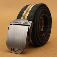 Male outdoor sports casual canvas belt Men male belt design color !  belt for man
