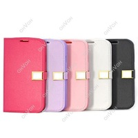 S5H Flip Leather Cover Shell Case For Samsung Galaxy S3 I9300 Free Drop Shipping