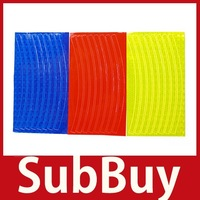 [SubBuy] 3 Color Fluorescent MTB Bike Bicycle Cycling Wheel Rim Reflective Stickers Decal wholesale